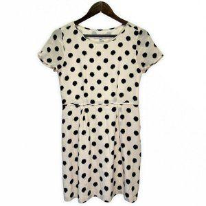 Broadway & Broome Madewell Silk Dress Polka Dots
